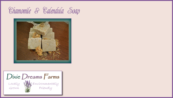 Chamomile and Calendula Soap