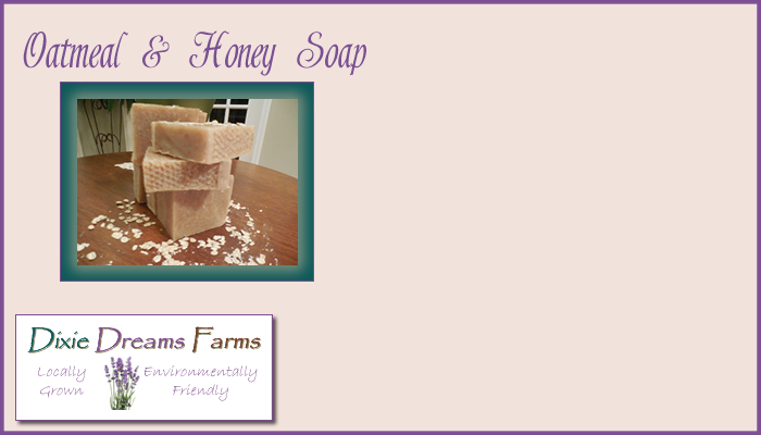 Oatmeal & Honey Soap